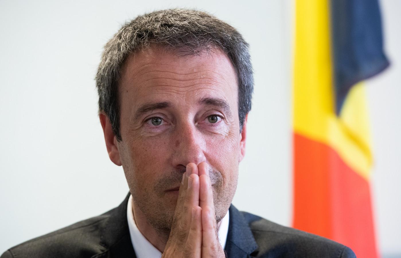 Philippe Goffin, ministre des Affaires étrangères.
