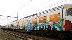 Herstellen vandalisme kostte NMBS vorig jaar bijna vijf miljoen euro