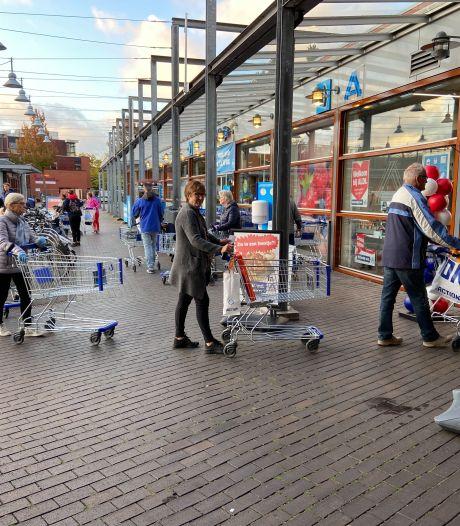 Aldi in Deventer heropent: hamsterwinkelen kan nog steeds, ook in coronatijd