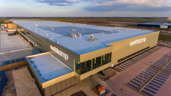 Het distributiecentrum van Wehkamp in Zwolle.