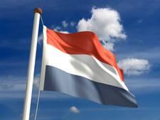 Geldermalsen hangt elke dag de Nederlandse vlag uit