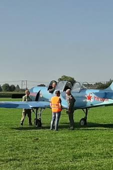 Eerste vliegtuigen Wings of Freedom geland