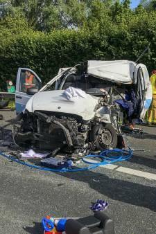 Voor derde dag op rij ongeluk op A67; weg bij Asten weer vrij