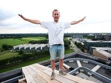 Arne Tanzer vliegt 'als een vogel' van de Johanna af
