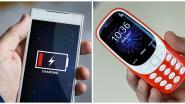 Waarom de batterij van de nieuwe Nokia 3310 wél een maand meegaat en smartphones al na één dag plat zijn