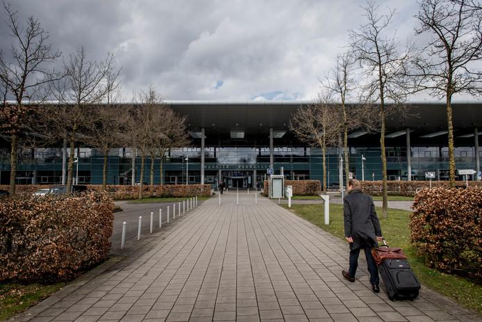Exterieur van luchthaven Münster-Osnabrück