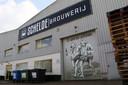 De Scheldebrouwerij is nu gevestigd op de Transportzone Meer-Hazeldonk. Op de roldeur staan de wildemannen Knots en Knuppel, afgeleid van de twee schildhouders op het gemeentewapen van Bergen op Zoom.
