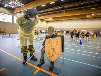 Sint-Truiden test 700 kinderen met hulp van het leger, ridder Thomas steelt de show