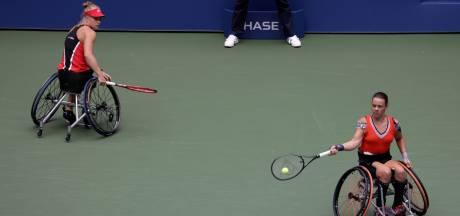 Geen titel op US Open voor rolstoeltennisster Marjolein Buis