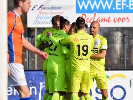 Scorende Tiebosch pakt periodetitel met derdedivisionist Hoek