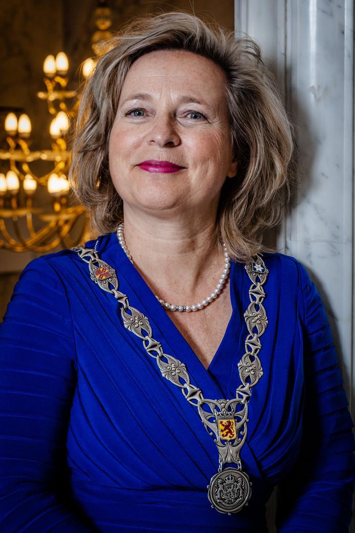 Burgemeester Annemiek Jetten.