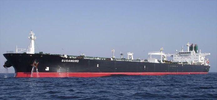 Le tanker a peut-être été touché par des missiles