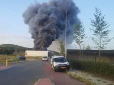 Uitslaande brand in Barneveld, pand stort in