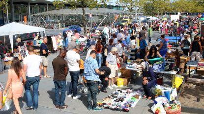 """Geen rommelmarkt meer op Stationsplein: """"Voldoet niet aan de verwachtingen"""""""