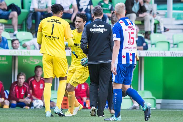 Hahn wordt vervangen door Van der Steen.