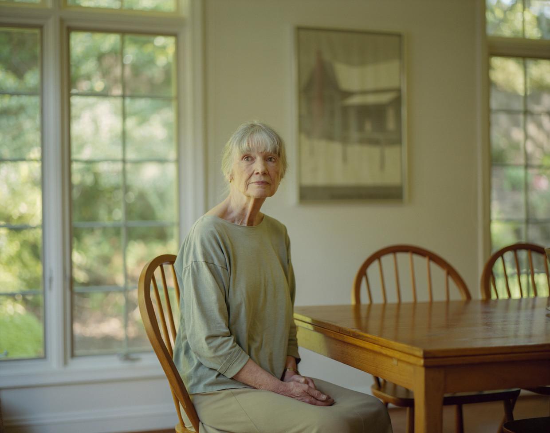 Anne Tyler: 'Als ik mijn boek inlever, heb ik altijd zote doen met mijn personages: redden ze het wel in hun eentje?'  Beeld The New York Times / HH