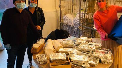 Trattoria Ensorito schenkt warme pastagerechten aan daklozen