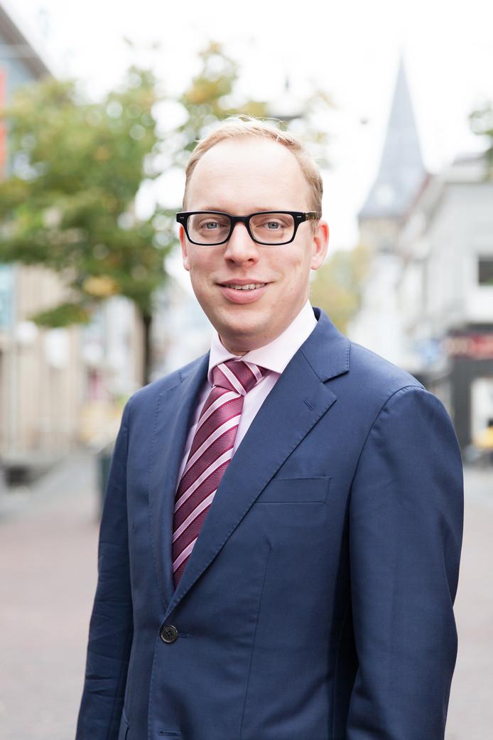 Locoburgemeester Eelco Eerenberg van Enschede.