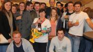 Ook jeugd paraat bij feest rond 40 jaar cafébazin Magda Desmet