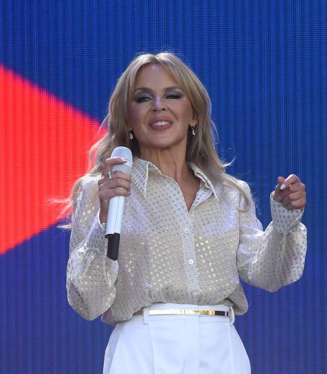 Rosé van Kylie Minogue in mum van tijd uitverkocht