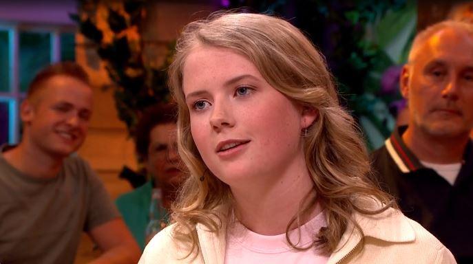Noa Vahle is een dochter van Linda de Mol en Sander Vahle.