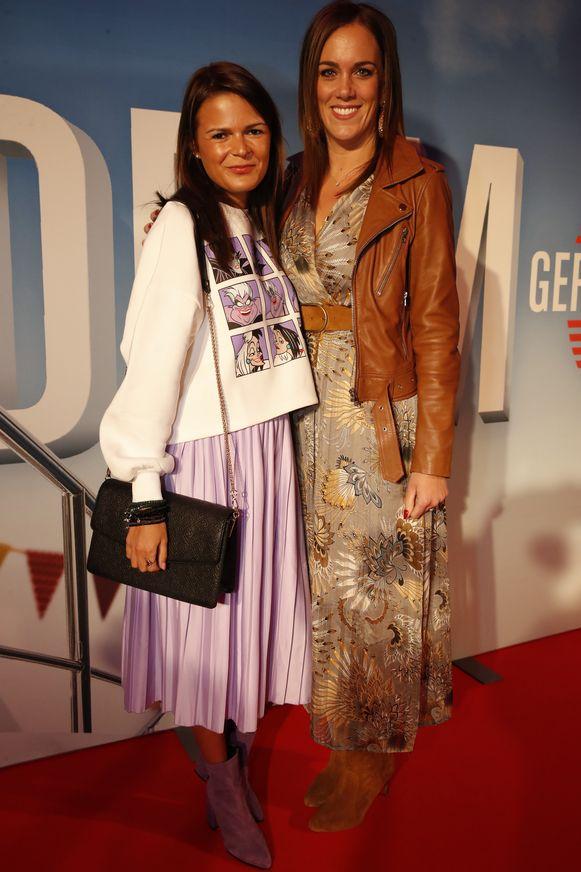 Blogster Yentl Keuppens bracht een vriendin mee.