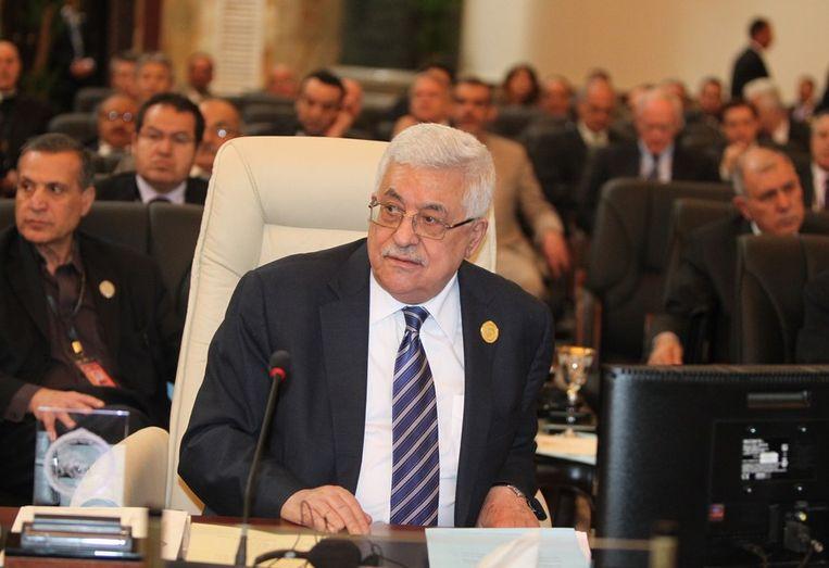 De Palestijnse leider Mahmud Abbas. Beeld afp