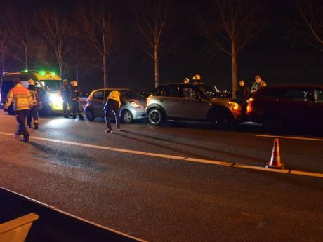 Ongeluk A20 Gouda richting Rotterdam, vertraging loopt verder op