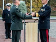 Overdracht commando Nederlandse Defensie Academie op Kasteel van Breda