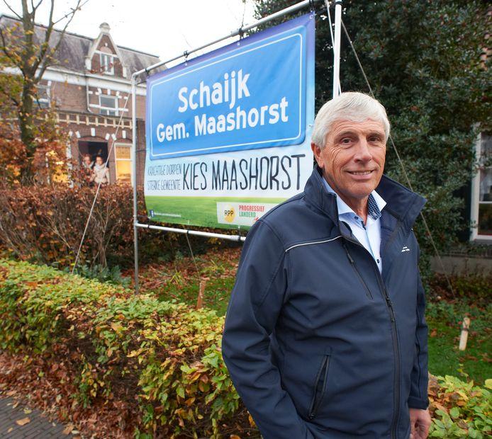 In 2015 sprak ondernemer Peter Peters zich uit voor opgaan van Schaijk in een gemeente Maashorst. Politieke partijen speelden ook in op die richting.