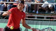Bemelmans wint in twee sets van Matosevic