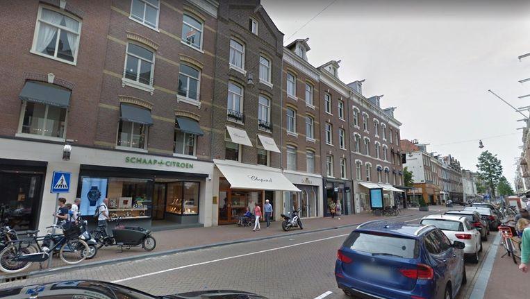 De P.C. Hooftstraat Beeld Google Streetview