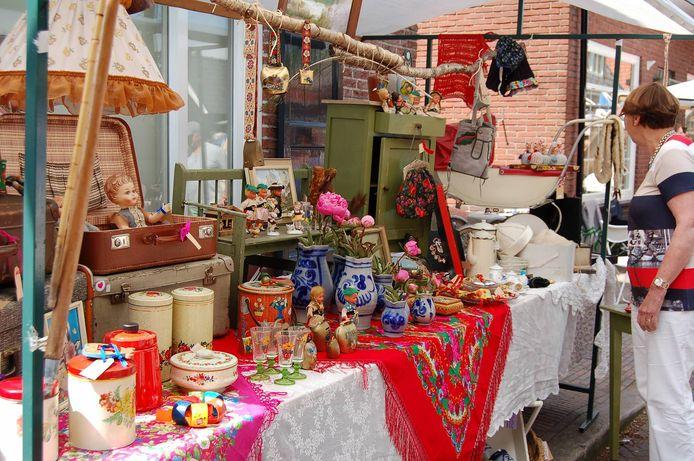 Brocante Fair in Delden.