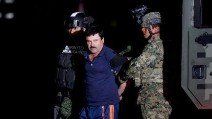 Mexicaanse drugsbaron El Chapo hoort vandaag duur celstraf