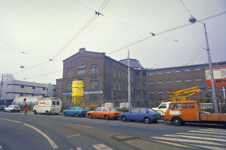 Archiefbeeld uit 1986. De gevangenis was toen al gesloten, maar werd in 1987 opnieuw in gebruik genomen vanwege een cellentekort. Beeld Hollandse Hoogte /  ANP