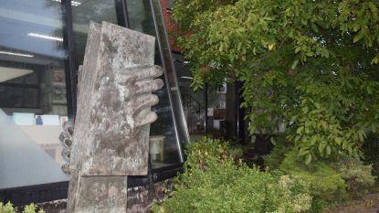 Beeld Frans Wuytack kan opnieuw bewonderd worden in de Chalmetlaan