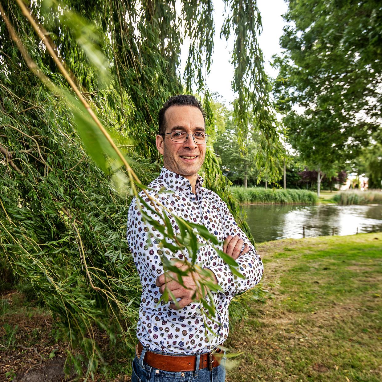 Jeroen Bergamin.  Beeld Guus Dubbelman / de Volkskrant