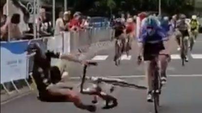 Een pijnlijke overwinning: Franse renner bewijst dat het ook kan