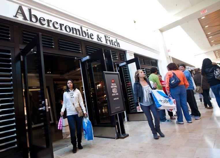 Een Abercrombie & Fitch-winkel in Charlotte. Beeld reuters