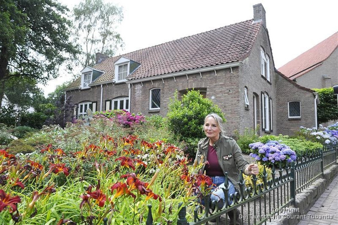 Agnes Hermelink, mede-eigenaar van het recreatiebedrijf Olde Kottink in Beuningen.