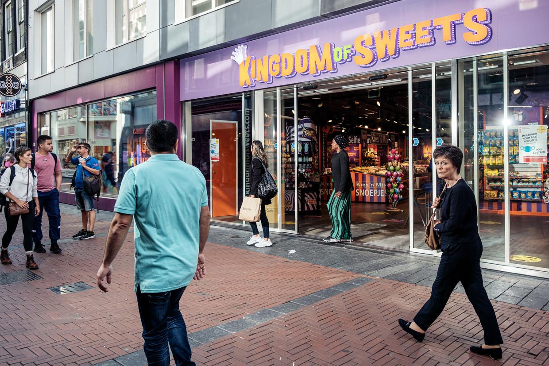 Kingdom of Sweets brengt nog meer variatie op suiker naar het winkelgebied. Beeld Jakob Van Vliet