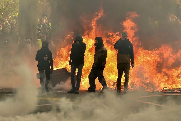 In Toulouse raakte de sfeer zwaar verhit.