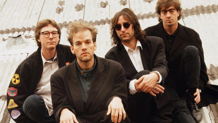 R.E.M. is op perstournee om te praten over de 'deluxe' heruitgaven van Out of Time (1991). Beeld