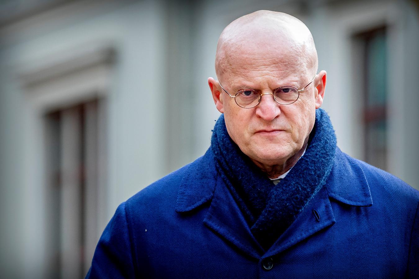 DEN HAAG - Minister Ferd Grapperhaus van Justitie en Veiligheid komt aan op het Binnenhof voor de wekelijkse ministerraad.