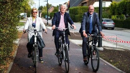 Voortaan comfortabel fietsen op Mortselsesteenweg