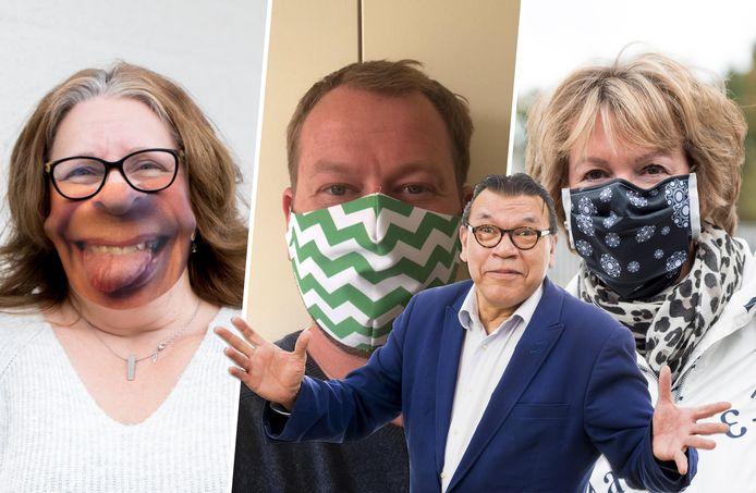 Roy Grünewald pleit voor een mondkapjesdesignwedstrijd.