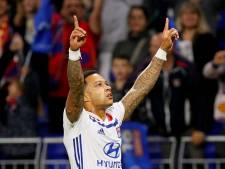Hattrick Memphis brengt Olympique Lyon in groepsfase Champions League