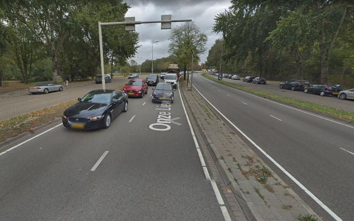 De Onze Lieve Vrouwestraat in Eindhoven.
