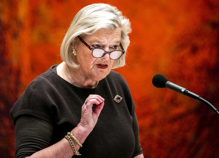 Ankie Broekers-Knol, staatssecretaris van justitie en veiligheid. Beeld ANP