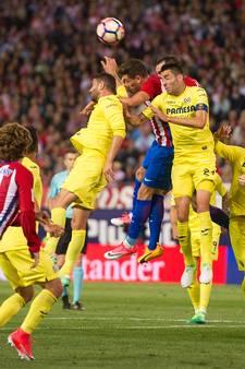Atlético laat zich verrassen door Villarreal